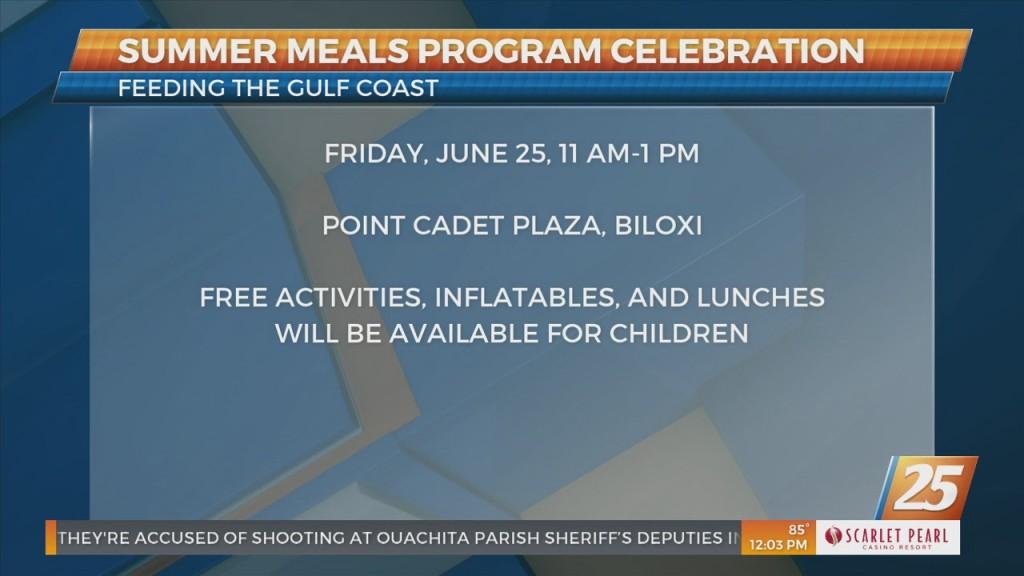 Feeding The Gulf Coast Summer Meals Program