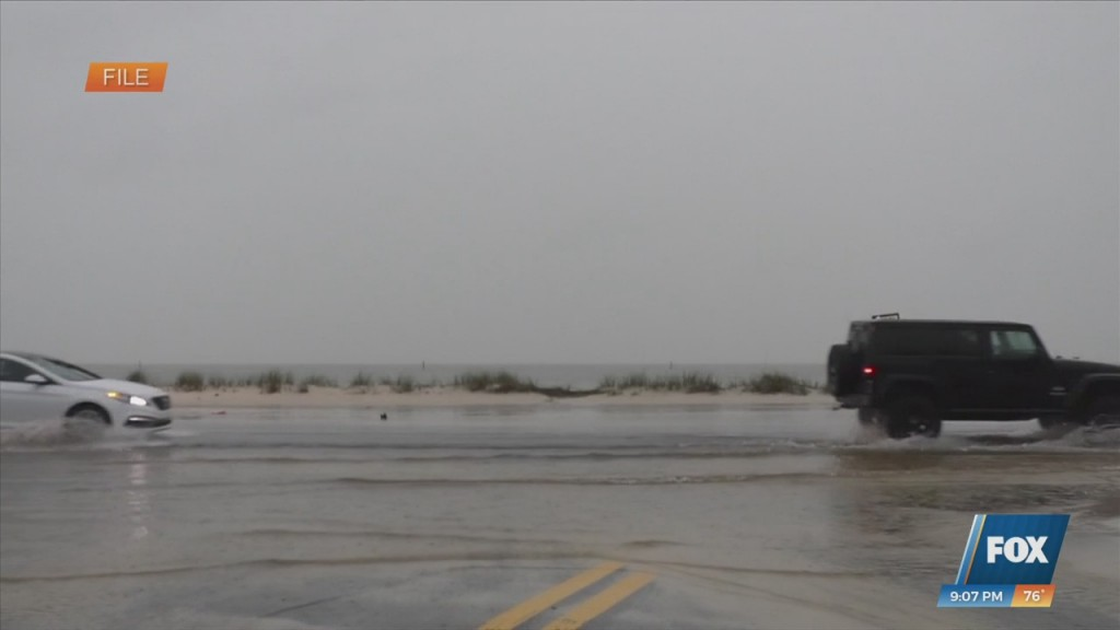 Severe Weather On The Coast
