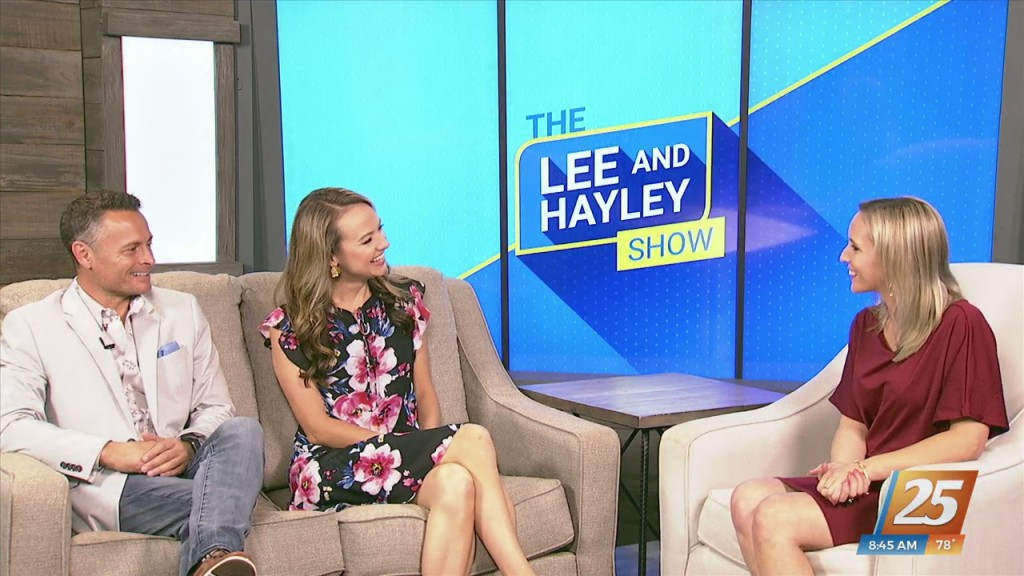 Hosts Of The 'lee And Hayley Show' In Studio