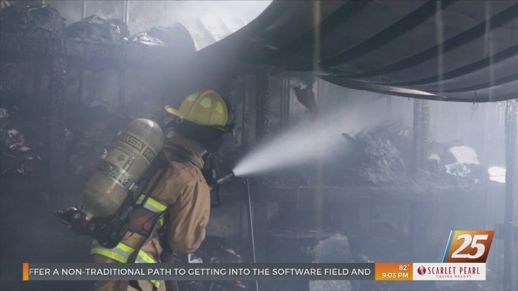 Harrison County Fire Rescue Extinguishes House Fire In Saucier
