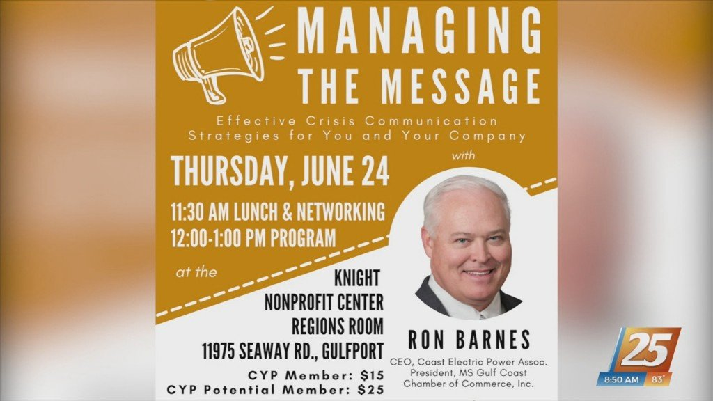 Coast Young Professionals: Managing The Message