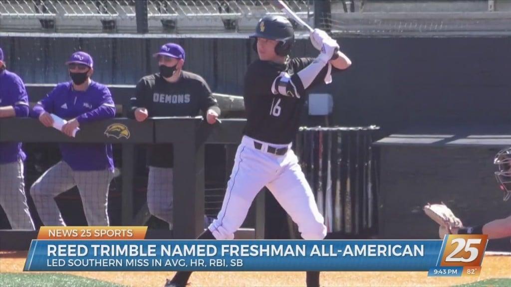 Usm's Reed Trimble Named Freshman All American