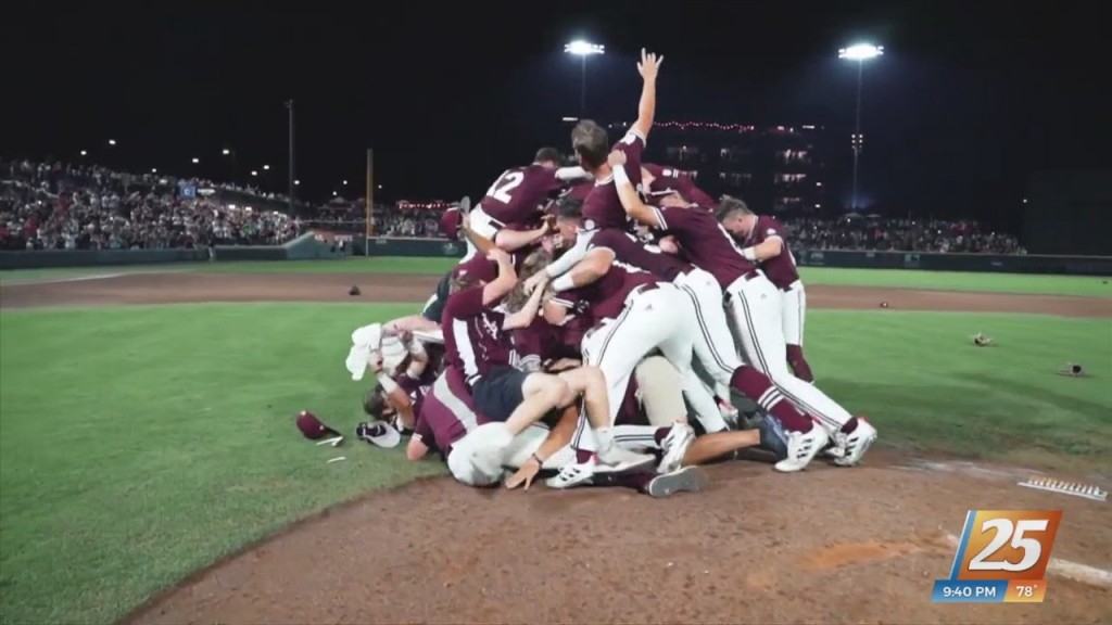 Mississippi State Baseball Making Third Straight Trip To Omaha