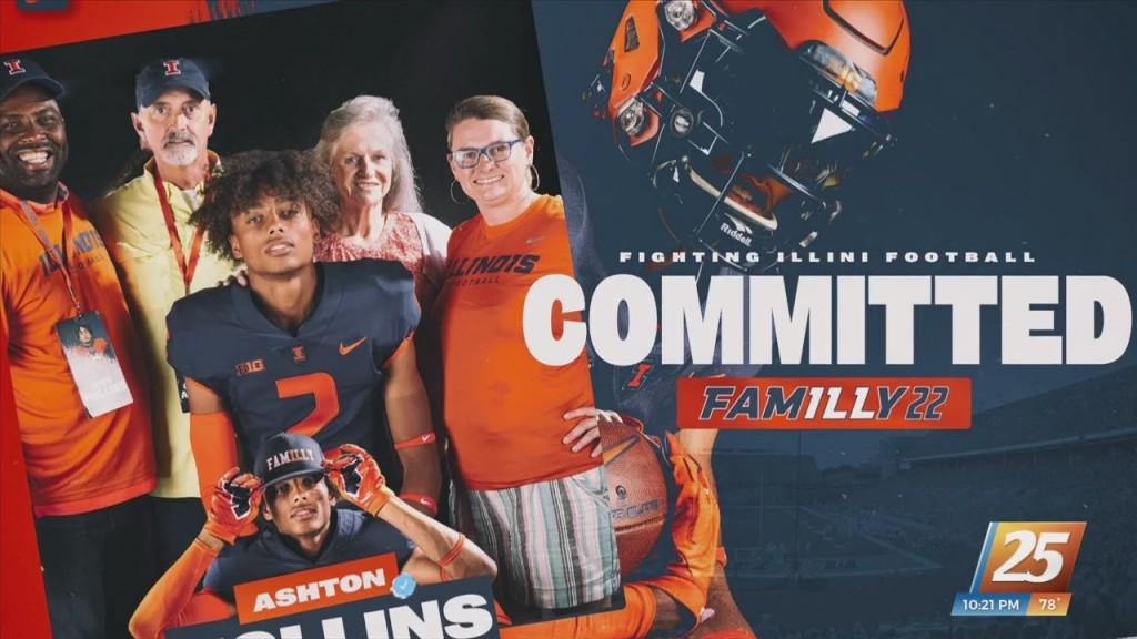 George County Football's Ashton Hollins Commits To Illinois