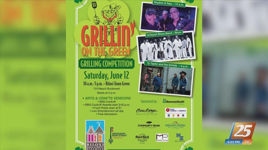 14th Annual Grillin' On The Green Festival Saturday In Biloxi
