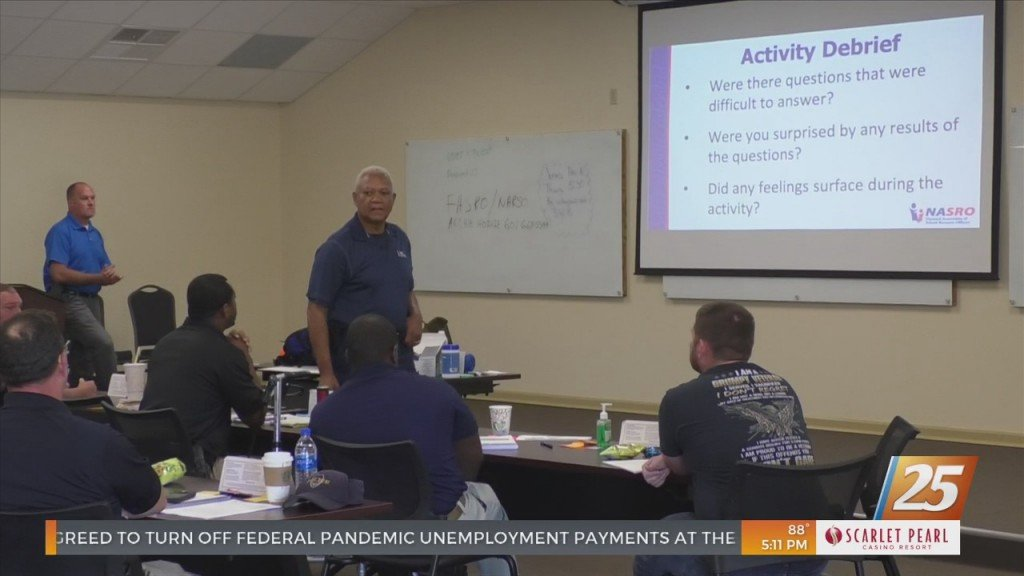 Harrison County School District Resource Officers Receive Safety Training