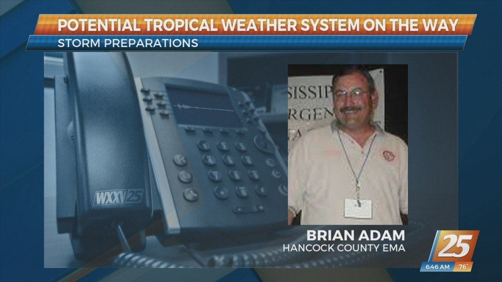 Hancock County Ema Discusses Tropical Weather