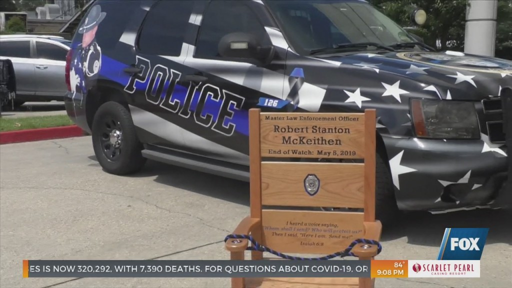 Saving A Hero's Place In Remembrance Of Officer Robert Mckeithen