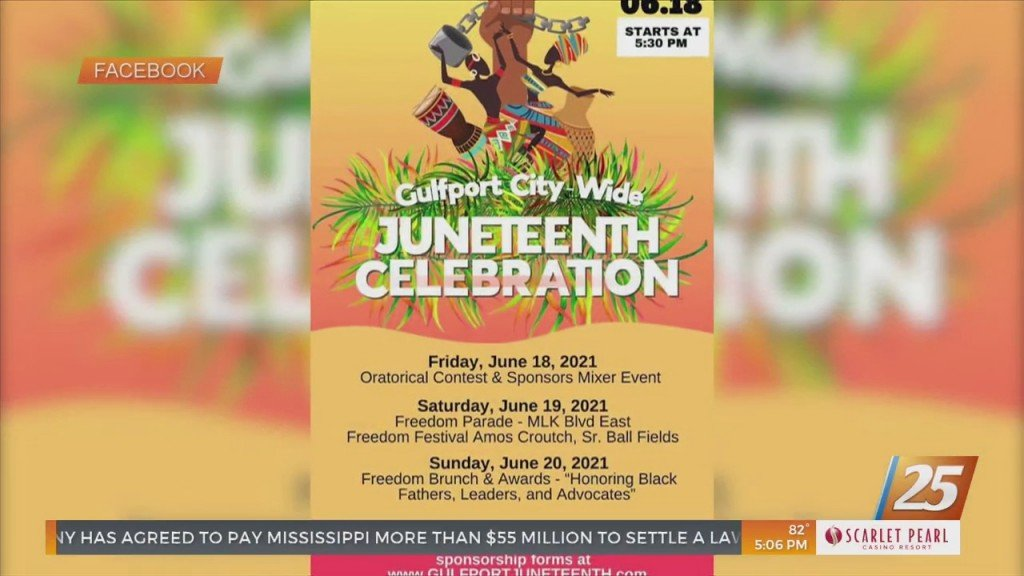 Preparations Underway For The Gulfport City Wide Juneteenth Celebration