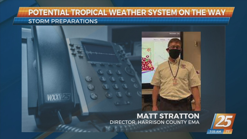 Harrison County Ema Director Discusses Tropical Weather