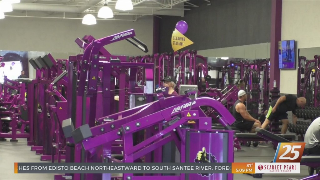 Ocean Springs Planet Fitness Grand Reopening Event