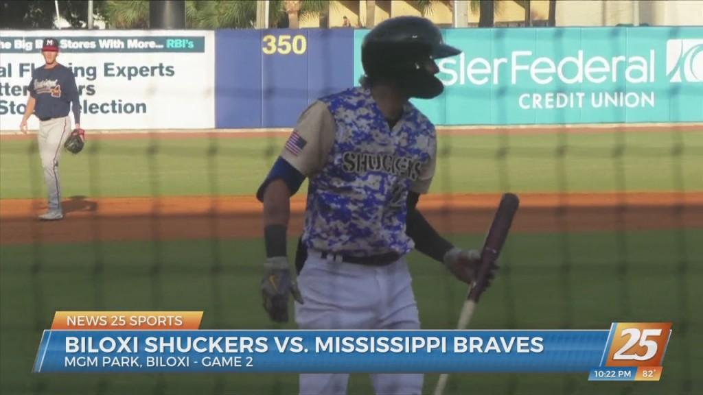 Biloxi Shuckers Vs. Mississippi Braves