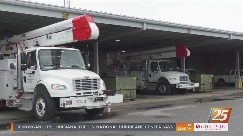 Mississippi Power Preparing For Storm