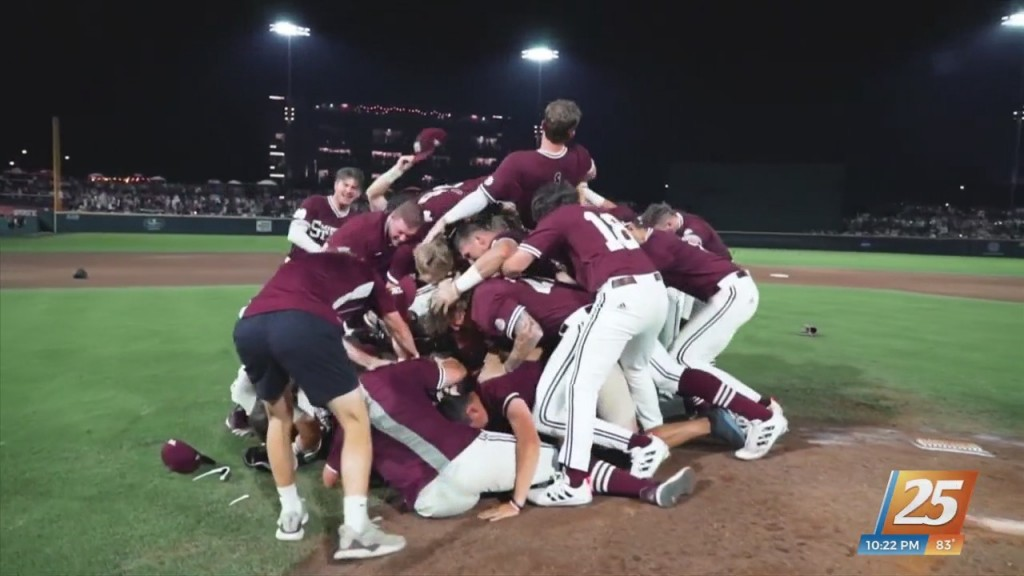 Seniors Setting The Tone For Mississippi State In Omaha