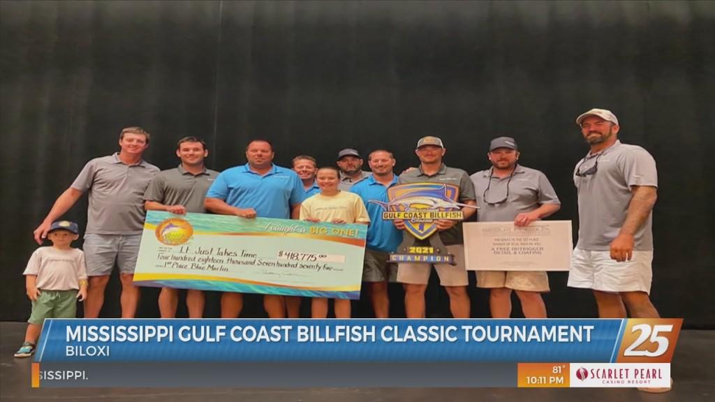 Mississippi Gulf Coast Billfish Classic Tournament Wrapped Up Sunday
