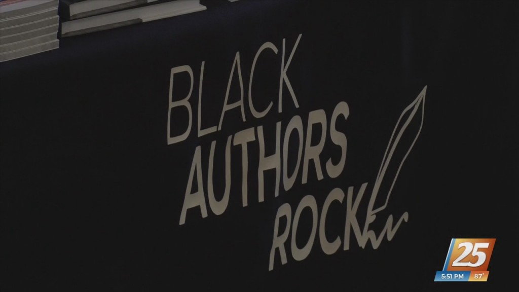 Ribbon Cutting Held For Black Authors Rock Arts Collective