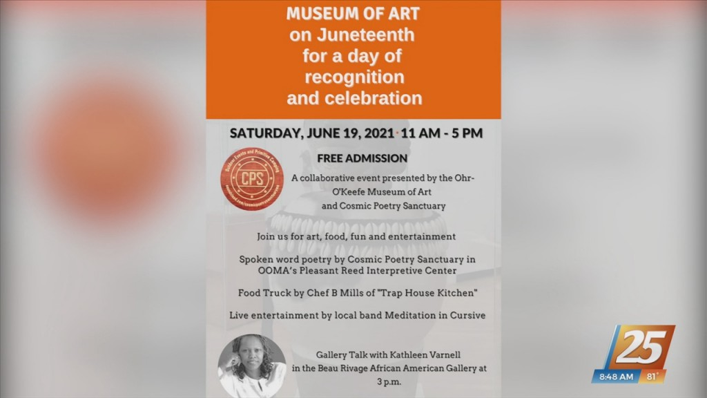 Juneteenth Celebration At Ohr O'keefe Museum Of Art