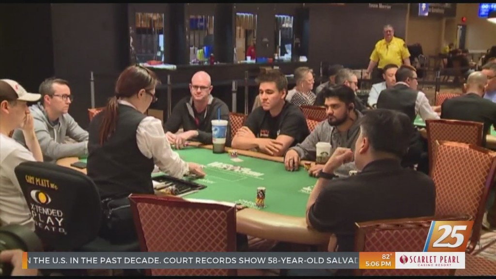 Live Poker Returns To Boomtown Friday