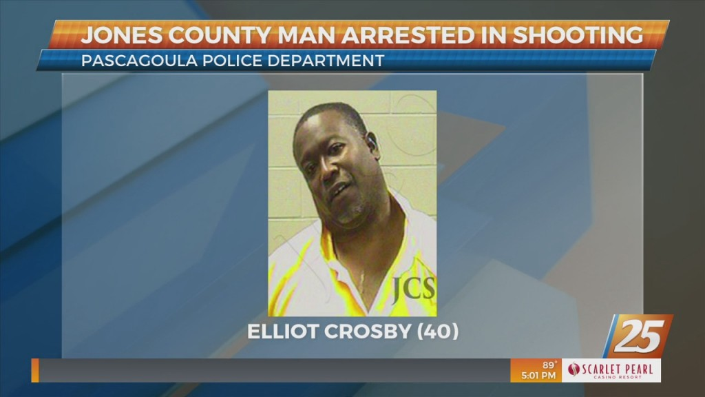 Jones County Man Arrested In Pascagoula Shooting