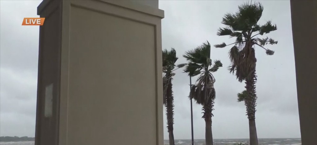 Conditions At Jones Park Ahead Of Tropical System