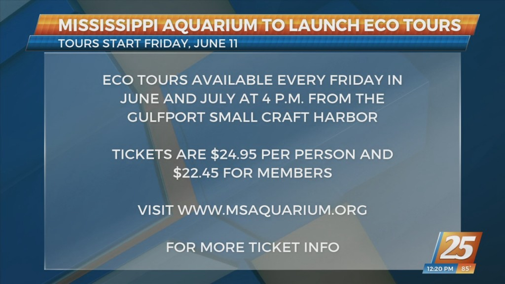 Mississippi Aquarium Launching Eco Tours And Interactive Experience