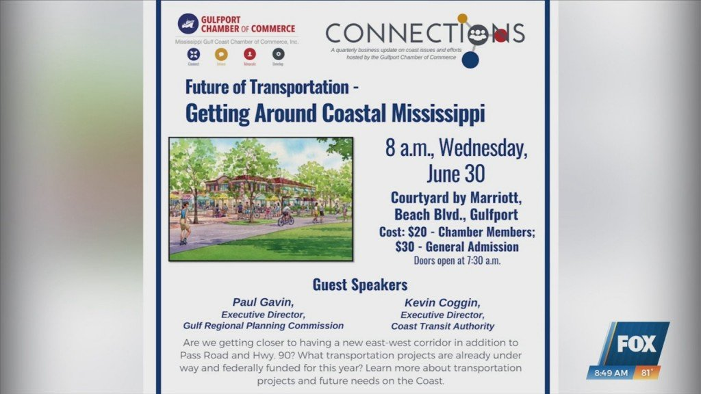 Gulfport Chamber Of Commerce Hosting Future Of Transportation Event