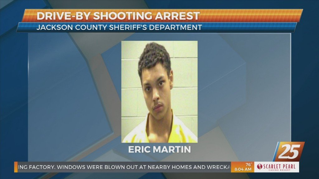Arrested Made In Jackson County Drive By Shooting