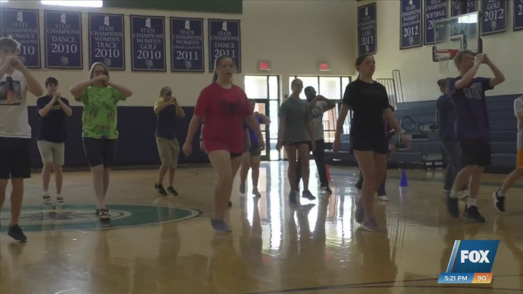 'the Pride Of St. Patrick' Band Getting Ready For Football Season