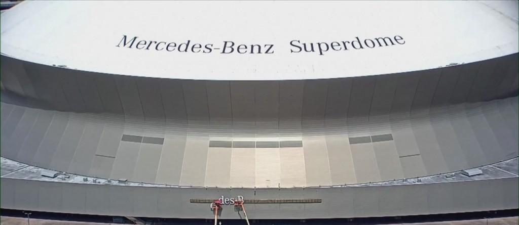 Naming Rights Sponsorship For The New Orleans Superdome Ended Thursday