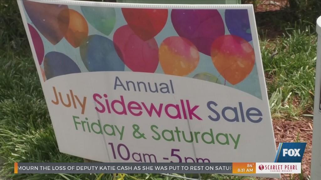 Ocean Springs Annual July Sidewalk Sale