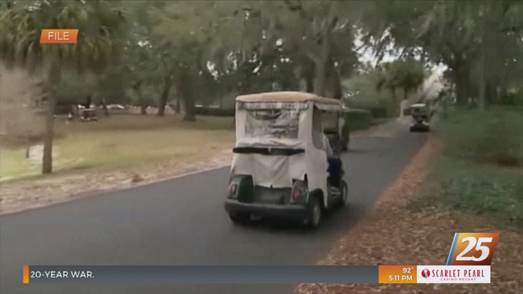 Biloxi Pd Announces Requirements And Driver Safety Tips For Golf Carts In Biloxi