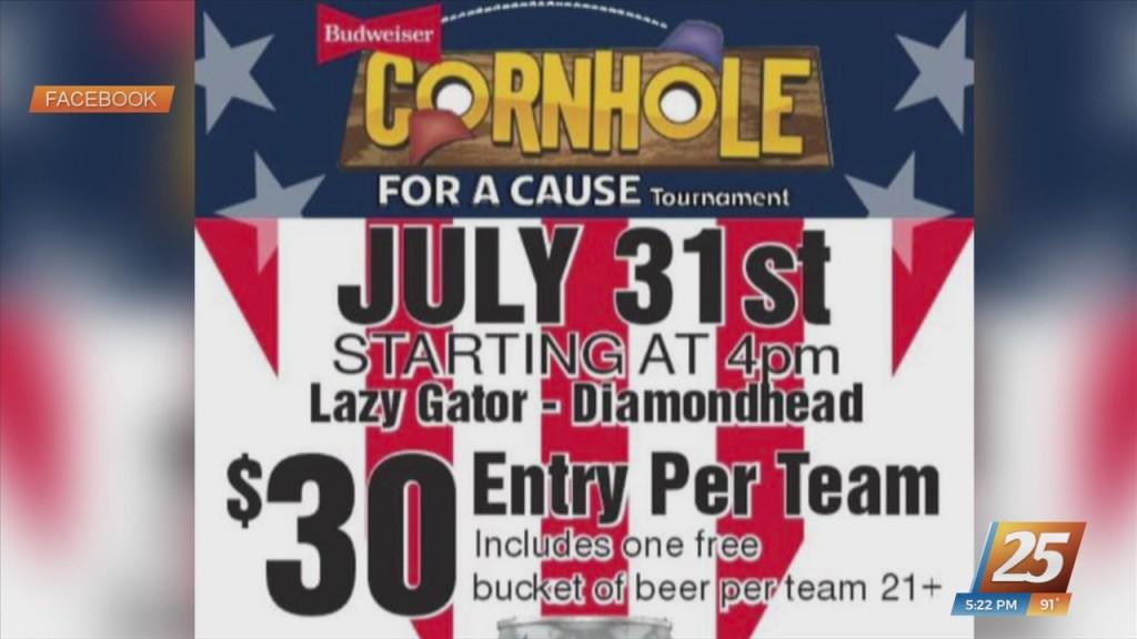 Lazy Gator Sports Bar Hosting Cornhole For A Cause Tournament