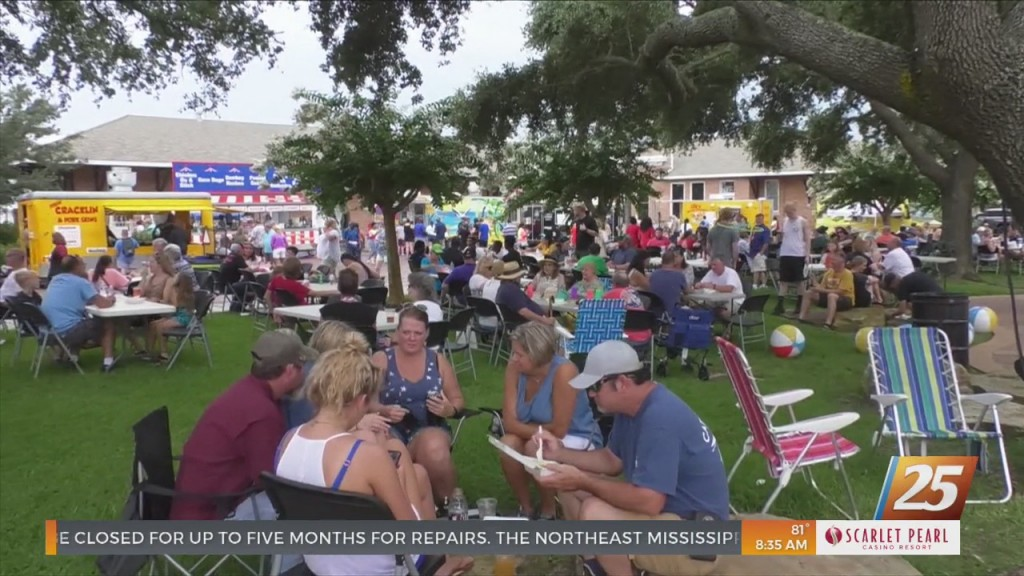 Ugly Tie Fest Took Place In Downtown Gulfport Over The Weekend