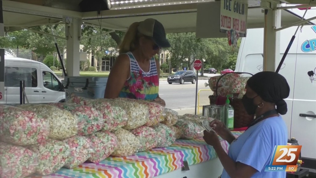 Riverfront Dine And Drive In Food Truck Festival In Moss Point