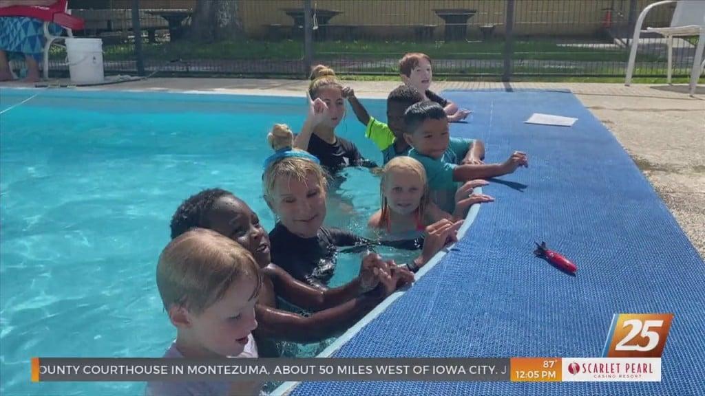 Ymca Preschool Swim Class Graduation