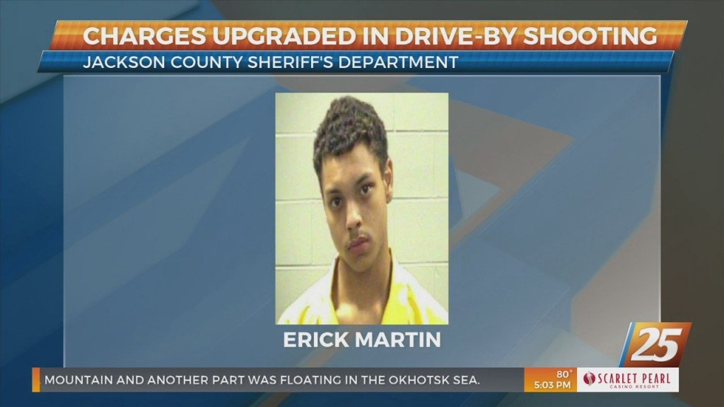 Charges Upgraded In Jackson County Drive By Shooting