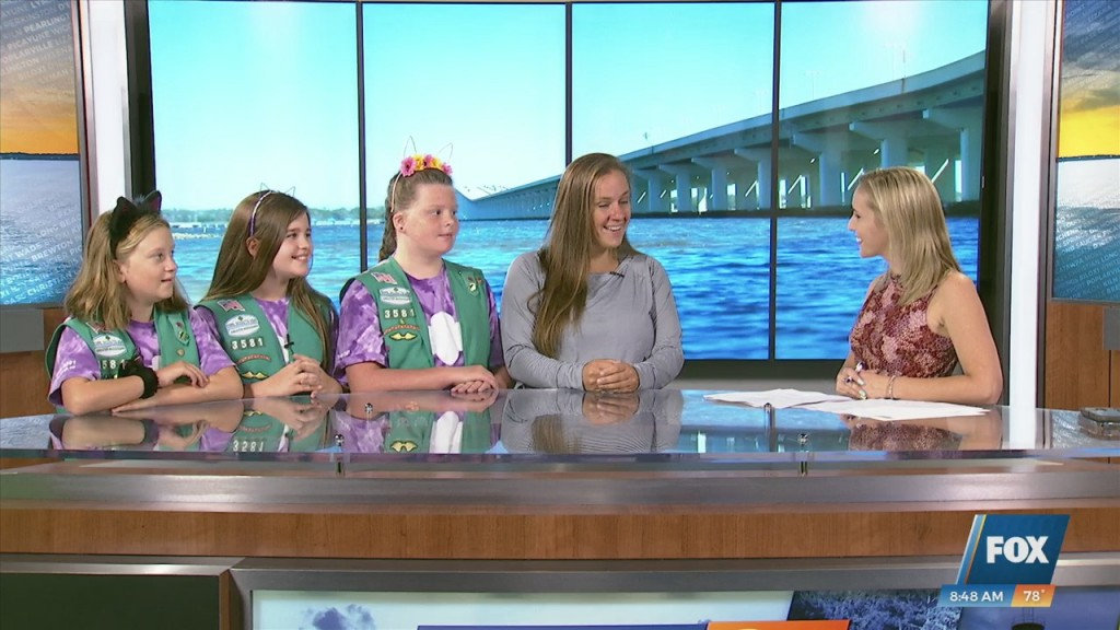Girl Scout Troop 3581 Participating In Questfest