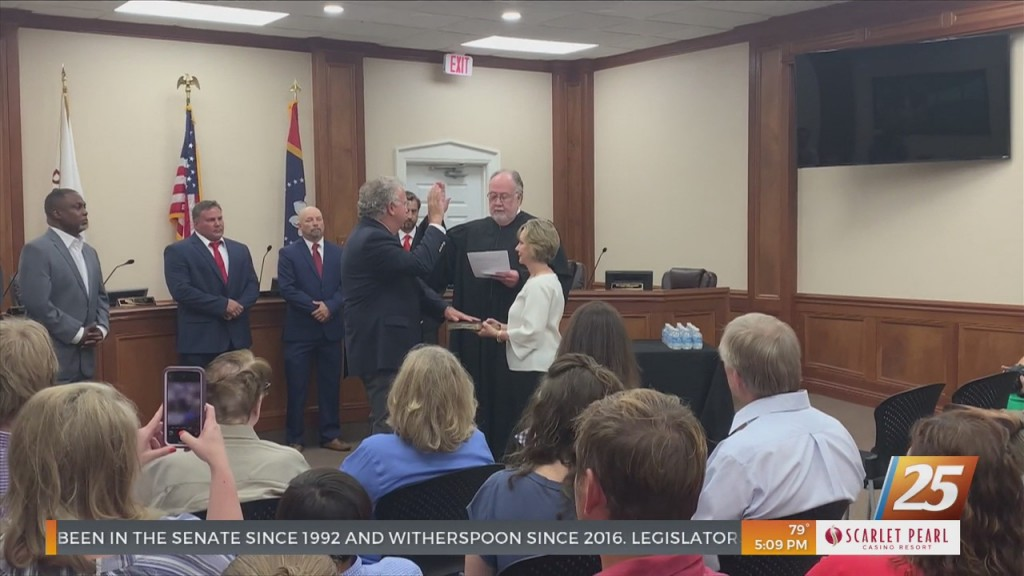 New Mayor Talks About Plans For The City Of Pascagoula