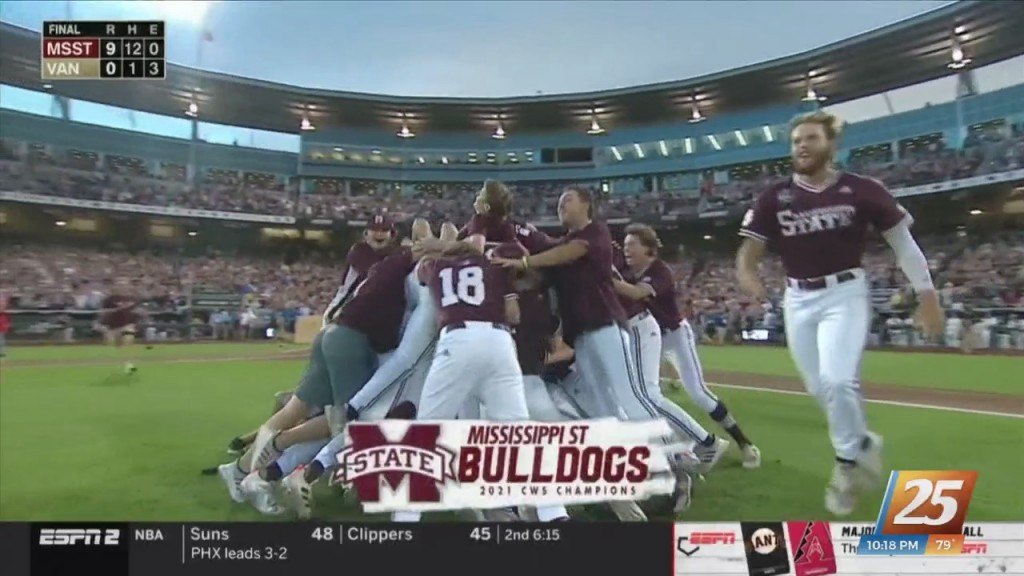 Mississippi State Wins First National Championship