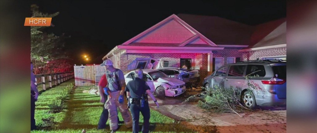 Car Drives Into Home On Landon Road In Harrison County