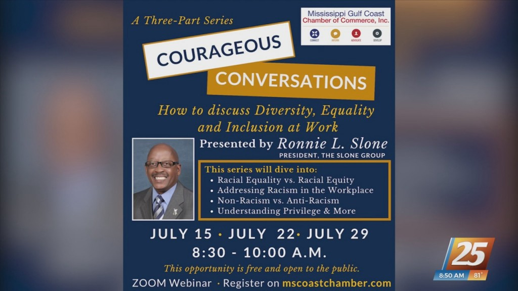 Mississippi Gulf Coast Chamber Of Commerce Kicks Off 'courageous Conversations' Series