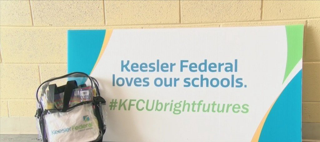 Keesler Federal Credit Union Hosted 'backpacks For Bright Futures' Event