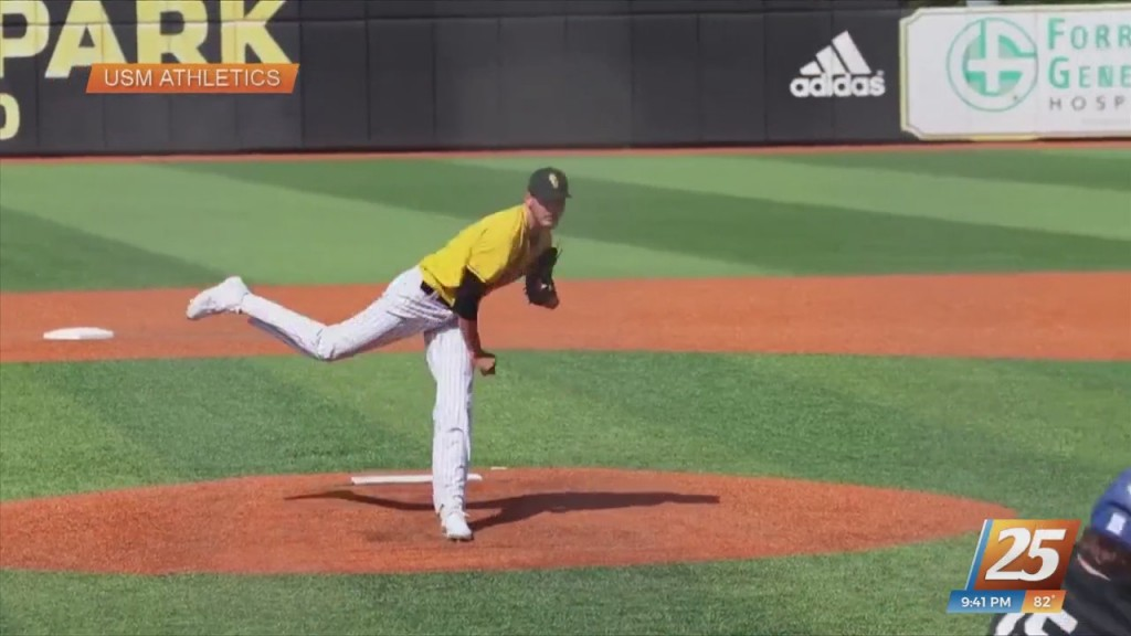 Usm Alum Walker Powell Signs With Chicago Cubs