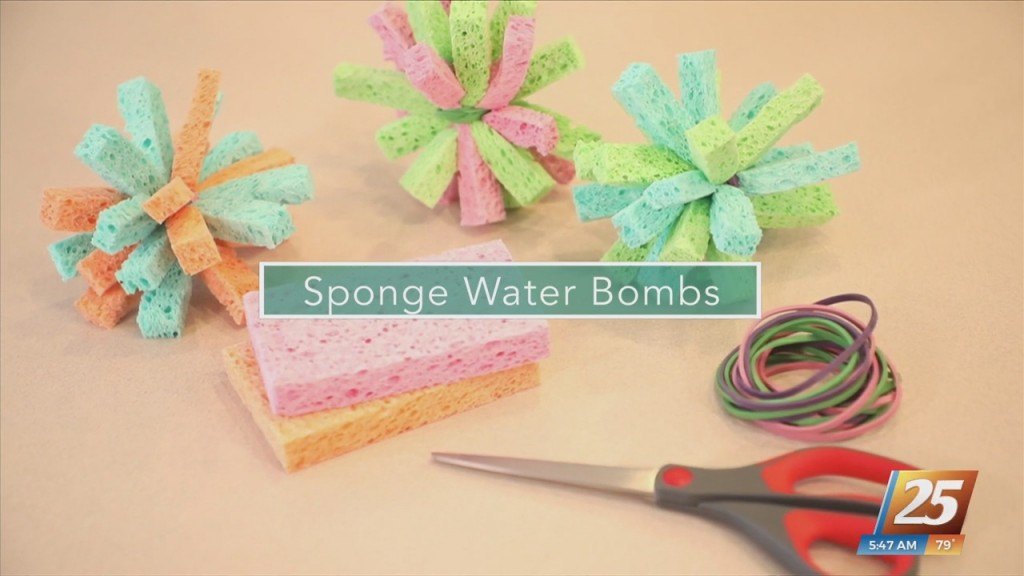 Mom To Mom: Sponge Water Bombs