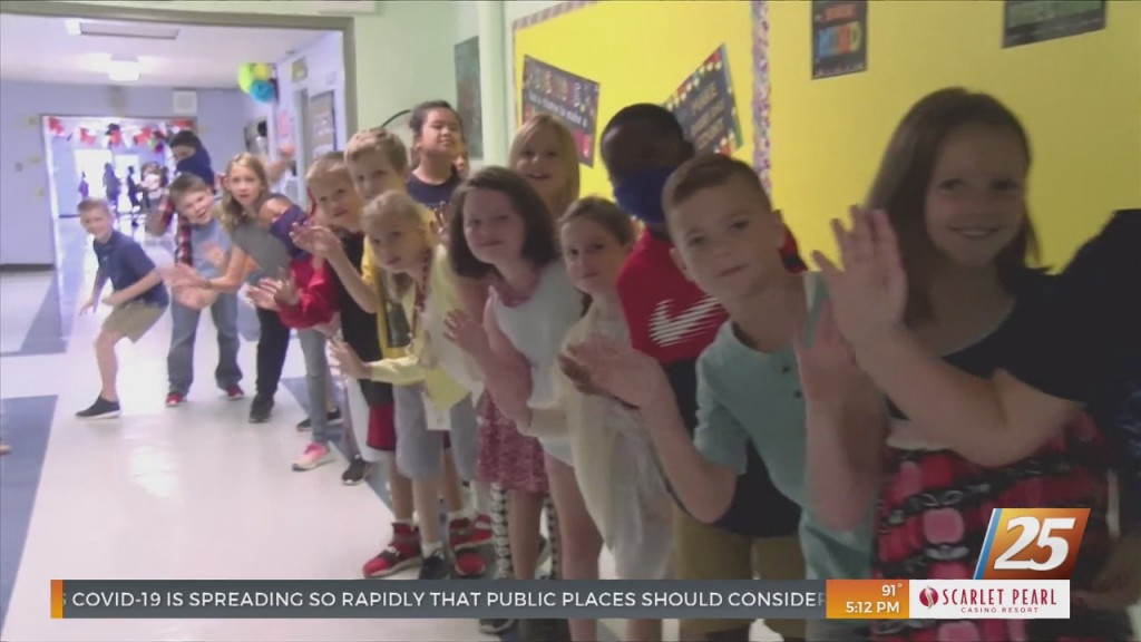 Students In The Gulfport School District Head Back To School