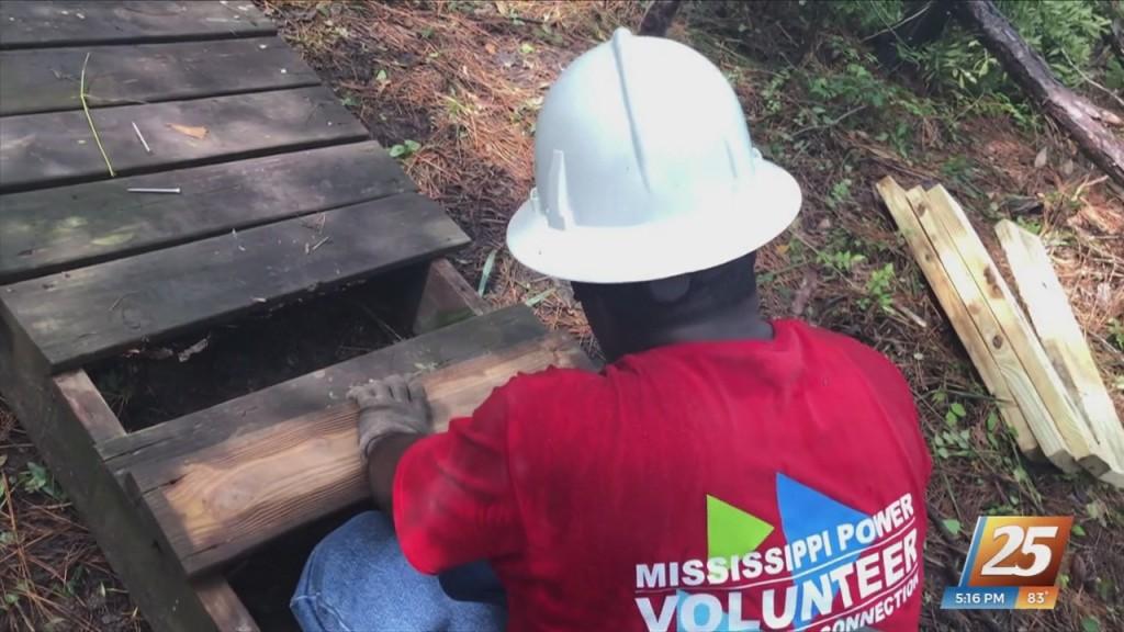 Mississippi Power Repairs Henderson Point Boardwalks