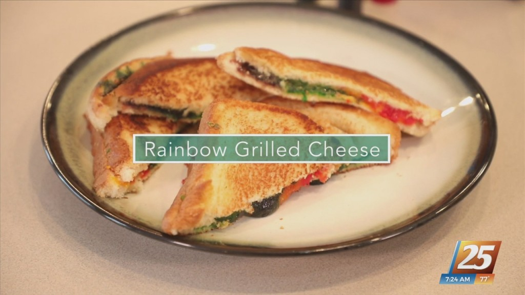 Mom To Mom: Rainbow Grilled Cheese