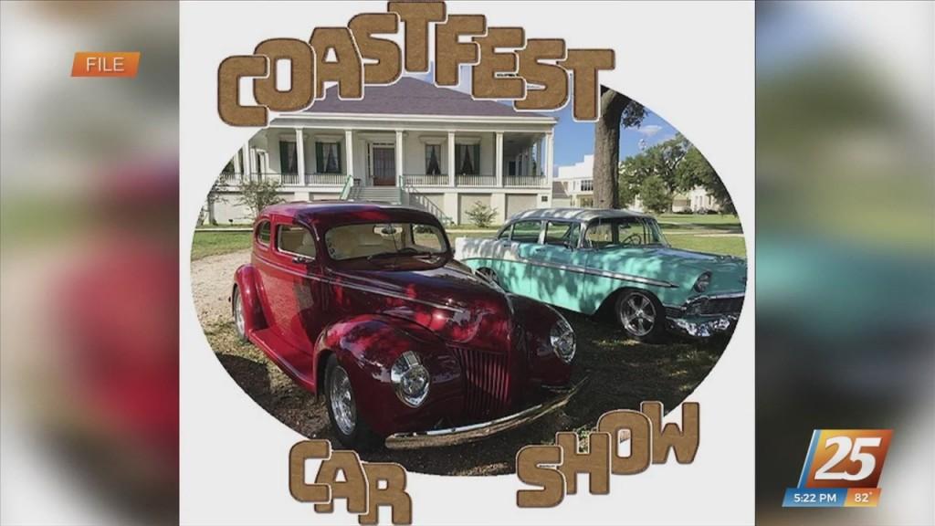 Annual Coastfest Car Show Tomorrow At Beauvoir