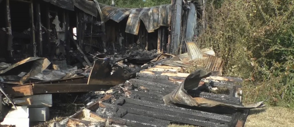 Vacant House Fire In Ocean Springs