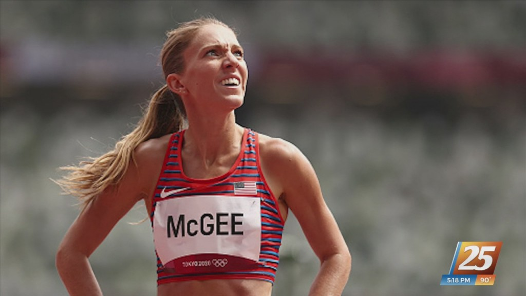 Cory Mcgee Back Home From Tokyo Olympics